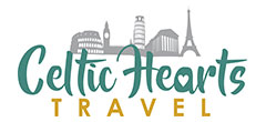 Celtic Hearts Travel Retina Logo